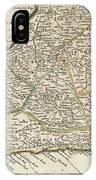 Vintage Map Of Barbados - 1736 IPhone Case