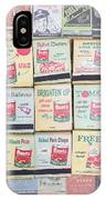 Vintage Matchbooks IPhone Case