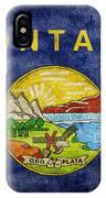 Vintage Montana Flag IPhone X Case