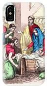 Vintage Nativity Scene IPhone Case