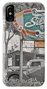 Vintage Neon Signs IPhone Case