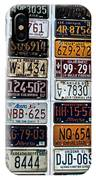 Vintage Number Plates IPhone Case