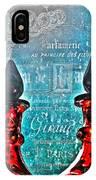 Vintage Paris Perfume IPhone Case