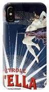 Vintage Petrole Stella Poster IPhone Case
