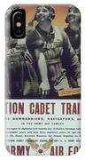 Vintage Poster - Aviation Cadet Training IPhone Case