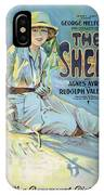 Vintage Poster - The Sheik IPhone Case
