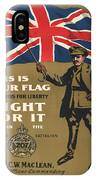 Vintage Poster - This Is Your Flag IPhone Case