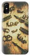 Vintage Romance IPhone Case