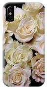 Vintage Roses Bouquet IPhone Case