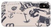 Vintage Sailing Art IPhone X Case