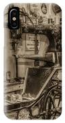 Vintage Sewing IPhone Case