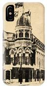 Vintage Shibe Park In Sepia IPhone Case
