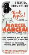 Vintage Show Poster Marcel Marceau IPhone Case