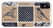 Vintage Songbird Patch 2 IPhone Case