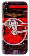 Vintage Steam Train Wheels IPhone Case