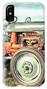 Vintage Tractors Pei Square IPhone Case