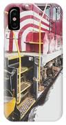 Vintage Train Locomotive IPhone Case