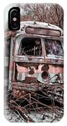 Vintage Trolley Streetcars IPhone Case