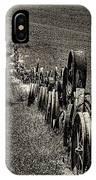 Vintage Wheel Fence IPhone Case