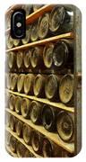 Vintage  Wine Bottles IPhone Case