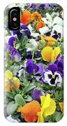Viola In The Spring Are Especially Beautiful. IPhone Case