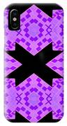 Violet Haze Abstract IPhone Case