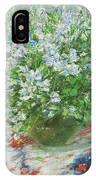 Violet Orychophragmus IPhone Case
