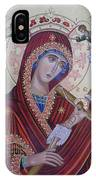 Virgin Mary Of Death IPhone Case
