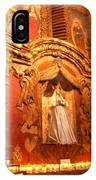 Virgin Mary Statue Candles Mission San Xavier Del Bac IPhone Case