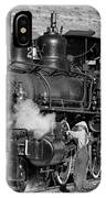 Virginia And Truckee Engine 25 Monochrome IPhone Case