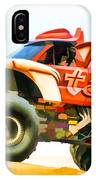 Virginia Beach Monster Truck Rally IPhone Case