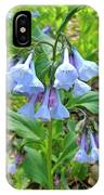 Virginia Bluebells - Mertensia Virginica IPhone Case