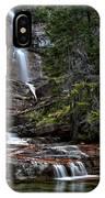 Virginia Falls In The Pool IPhone Case