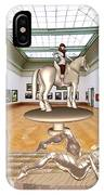 Virtual Exhibition - Girs 31 IPhone Case