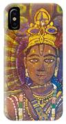 Vishnu Krishna Face IPhone Case