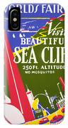 Visit Beautiful Sea Cliff IPhone Case