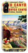 Visit Grand Canyon - Restored IPhone Case
