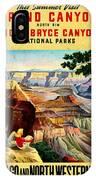 Visit Grand Canyon - Vintgelized IPhone Case