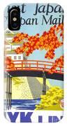 Visit Japan IPhone Case