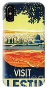 Visit Palestine IPhone Case