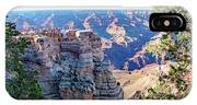 Visitors Dwarfed By Grand Canyon Vista IPhone Case