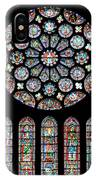 Vitraux - Cathedrale De Chartres - France IPhone Case