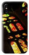 Vivacious Stained Glass Windows IPhone Case