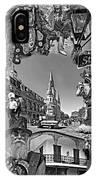 Vive Les French Quarter Monochrome IPhone Case
