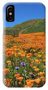 Vivid Memories Of The Walker Canyon Superbloom IPhone Case