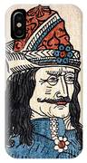 Vlad IIi (1431-1477) IPhone Case