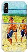 Volleyball At Gordons Pond IPhone Case