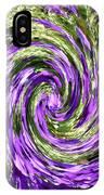 Vortex Abstract Art No. 14 IPhone Case