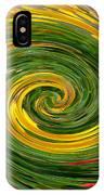 Vortex Abstract Art No. 16 IPhone Case