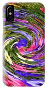 Vortex Abstract Art No. 18 IPhone Case